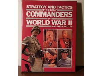 COMMANDERS of WORLD WAR II ISBN 0-88029-491-4  tryckår 1990