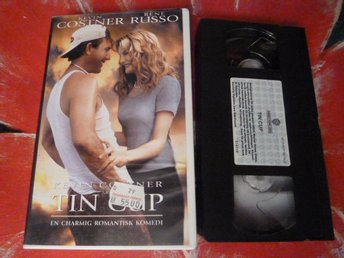 TIN CUP, VHS, KOMEDI, FILM, SVENSK TEXT, 130 MIN.