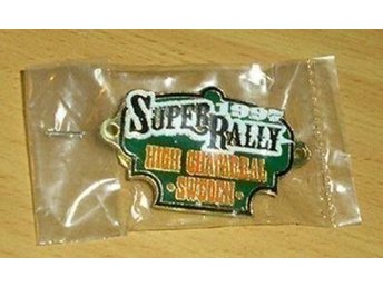 Super rally pin 1997-  High Chaparral (Harley Davidsson) OÖPPNAD