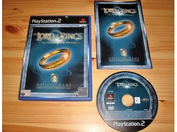 PS2: Lord of the Rings the Fellowship of the Ring