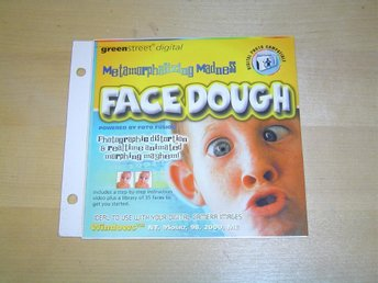 FACE DOUGH TILL PC CD-ROM *NYTT*