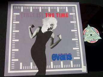 "MONETTE EVANS - THE TIME 12"" 1990 TOPPSKICK!"