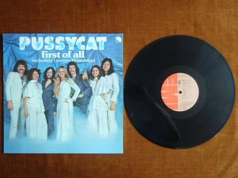 PUSSYCAT,  FIRST OF ALL,   LP, LP-SKIVA
