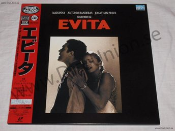 EVITA - WIDESCREEN JAPAN LD