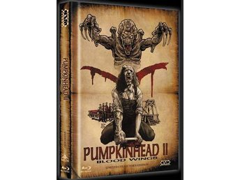 Pumpkinhead II: Blood Wings (Lmtd Mediabook DVD Blu-ray) Kane JASON Hodder