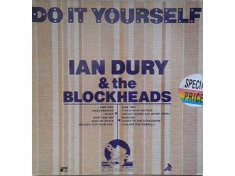 Ian Dury & The Blockheads title* Do It Yourself* Scandinavia LP - Hägersten - Ian Dury & The Blockheads title* Do It Yourself* Scandinavia LP - Hägersten