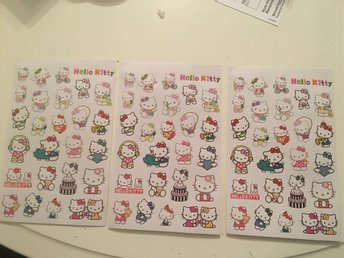Hello kitty stickers 3st