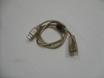 USB förlängnings kabel transparant design 90 cm längd dator mac pc - överkalix - USB förlängnings kabel transparant design 90 cm längd dator mac pc - överkalix