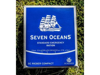 NÖDPROVIANT (GOD SMAK) - SURVIVAL - Seven Oceans Emergency Food - 2,5kg (5x500g)
