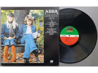 ABBA 'Greatest Hits' 1977 US compilation vinyl LP, gatefold