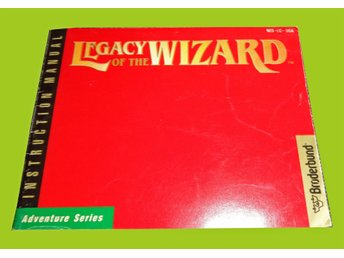 Legacy of the wizard NES USA Manual