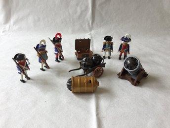 Playmobil Soldater och kanon - Klagshamn - Playmobil Soldater och kanon - Klagshamn
