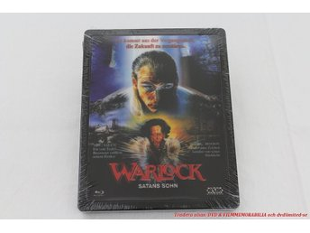 Warlock Satans Son 1989 - Limited Futurepak Steelbox 3D Cover - Julian Sands