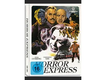 Horror Express (MEDIABOOK BLURAY) 1972 Dödsexpressen, T Savalas, Christopher Lee