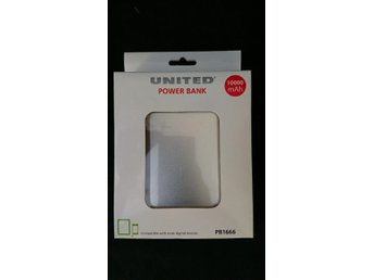 NY! Power Bank 10000mAh Silver.