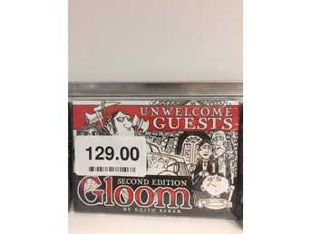 BRÄDSPEL . Gloom- Unwelcome Guests(2nd Edition)