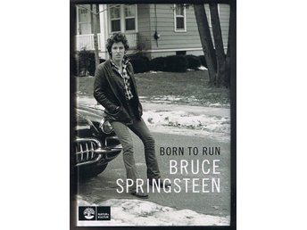 Bruce Springsteen: Born to run - 1:a upplagan!