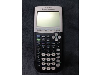 Texas Instruments ,Ti-84 plus Grafräknare.