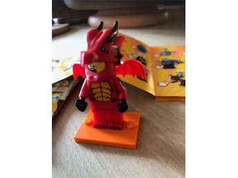 LEGO Party minifig serie 18 Dragon suit guy