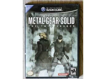 Metal Gear Solid - The Twin Snakes - Nintendo Gamecube NTSC USA