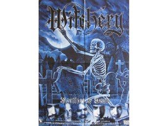 Witchery -Restless and dead VERY RARE original 98 promo post