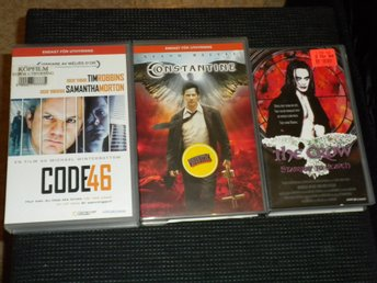 VHS - CODE 46 / COXISTANTINE / THE CROW