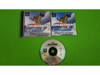 Cool Boarders 3 Playstation 1 PSone ps1