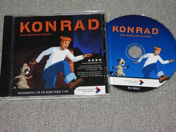 Konrad och Nobelmysteriet PC/Mac CD-ROM Spel Win 95/98