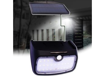 Detachable 28 LED Solar Power Sensor Wall Light  Waterpro...