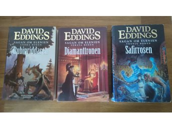 Sagan om Elenien.      David Eddings.       Stor Pocket