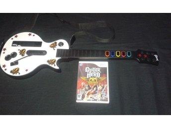 Guitar Hero Aerosmith & Gitarr Nintendo Wii - Huddinge - Guitar Hero Aerosmith & Gitarr Nintendo Wii - Huddinge