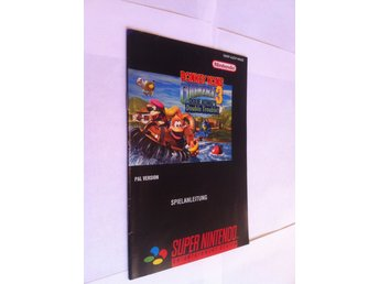 SNES: Manualer: Donkey kong Country 3 (End. manual - Tysk)