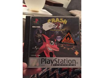 CRASH BANDICOOT 2 svensksålt