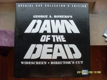 Dawn of the dead 1978 directors cut laserdisc 3 CAV discs horror gore splatter - Säter - Dawn of the dead 1978 directors cut laserdisc 3 CAV discs horror gore splatter - Säter