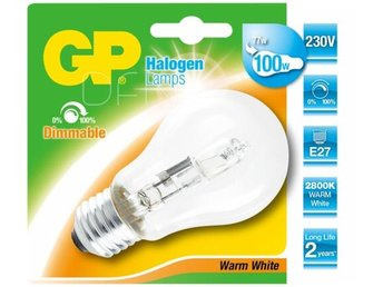GP Lighting Halogen Lamp E27 77W (100W) E27 warmwhite 1200 lm