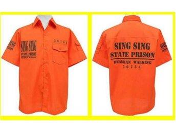 SHIRT: SING SING STATE PRISON (Str L) - Udon Thani - SHIRT: SING SING STATE PRISON (Str L) - Udon Thani
