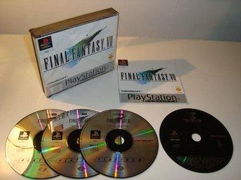 PSX - Final Fantasy VII (7) - Mycket fint skick - Hägersten - PSX - Final Fantasy VII (7) - Mycket fint skick - Hägersten