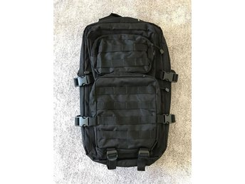 Miltec US Assault Pack 36L Ryggsäck Svart