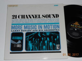 LARRY ELGART - More music in motion, MGM Stereo 21 Channel Sound USA '62