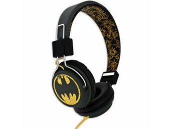 BATMAN Hörlur Teen Vintage On-Ear 110dB spärr