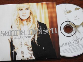 Sanna Nielsen - Empty Room CD Singel 2008 Single