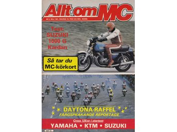 Allt Om Mc 1981-5 Suzuki 1000 G Stor Test.Alldays Allon 1919
