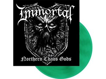 Immortal -Northern Chaos Gods lp green vinyl ltd 300 w/gatef