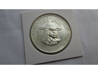 peru 50 SOLES 1971 Anniversary of Independence