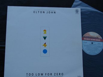 ELTON JOHN - Too low for zero Mexico -83 LP