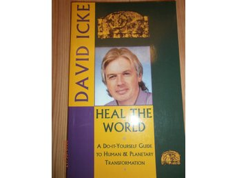 HEAL THE WORLD David Icke new age religion konspiration Engelska böcker