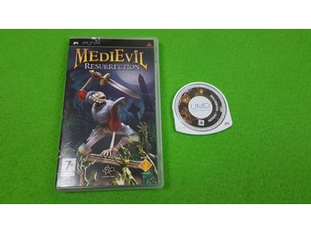 Medievil Resurrection SVENSK UTGÅVA PSP Playstation Portable