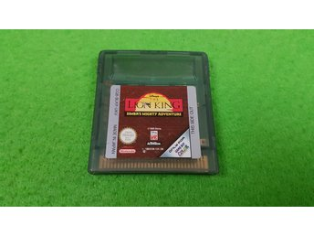 The Lion King Simbas Mighty Adventure - Gameboy Color GBC