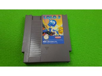 Adventure of Lolo 2 Nintendo 8 bit NES