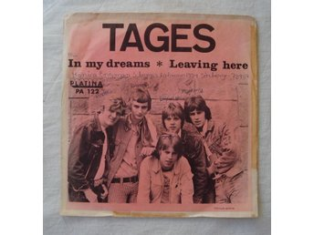 TAGES - In My Dreams, Swe-1966 45""